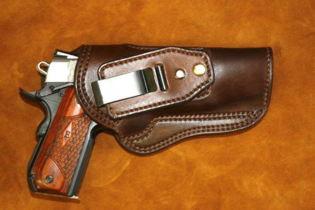 inside the waistband leather tuckable holster