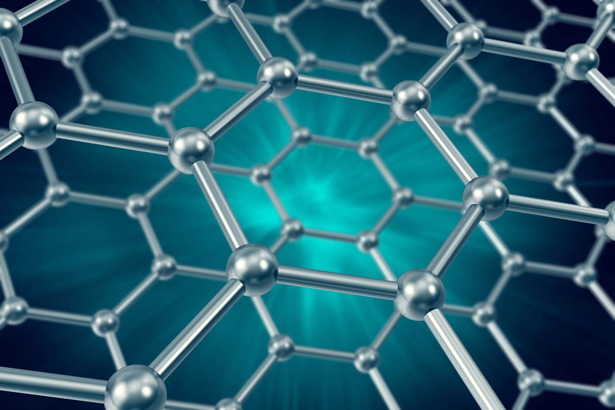 graphene is a  new state of the art material that we are using on our electrodes.
