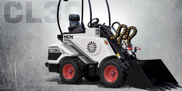 MCM CL30, compact wheel loader, articulated, small loader, mini loader, best small wheel loader