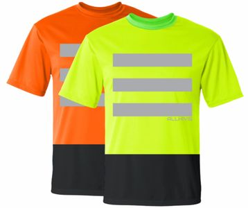 safety shirt, safety green shirt, hivis shirt, high visibility shirt, work shirt, workwear shirt