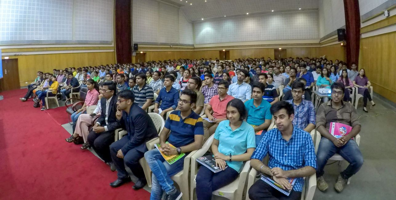 Professional Soft Skills Training session at XIMB