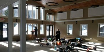 PSC Ski Racer Dryland Training at the AML Lodge