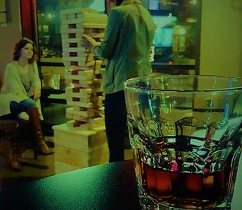 Jenga  Whiskey Bar Games Liquor Drinks Cocktails Beer Fun #FoPo FoPo Foster Powell