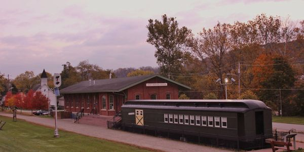West Newton Visitor's Center, West Newton Station, along the GAP (Great Allegheny Passage)