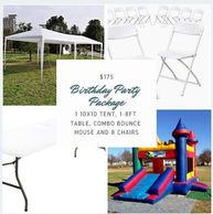 Packages Slumber Time Partys And Rentals