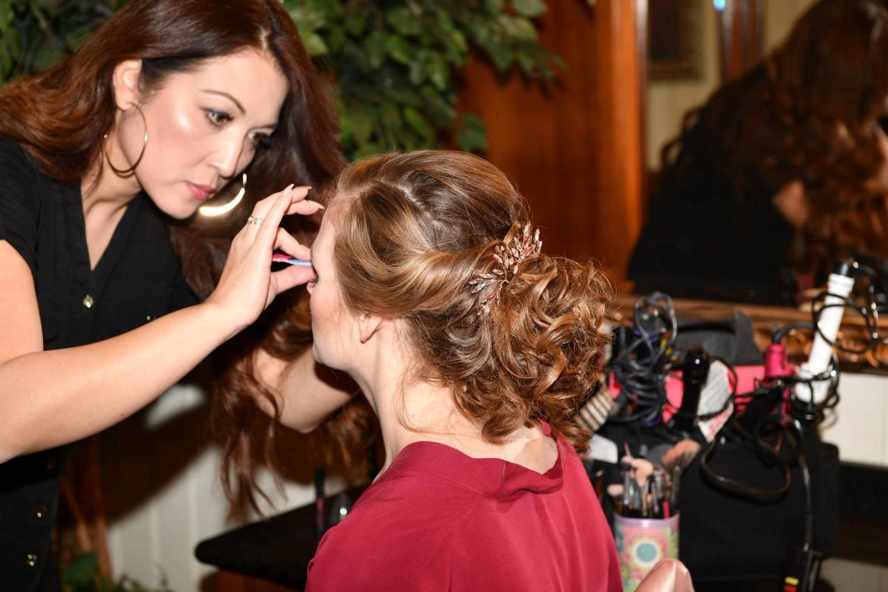 A Day In The Life Of A Bridal Hair And Makeup Artist