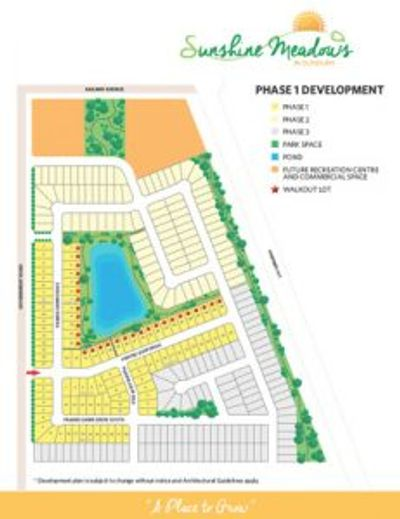 Sunshine Meadows Lot Sales and Development - short drive Saskatoon