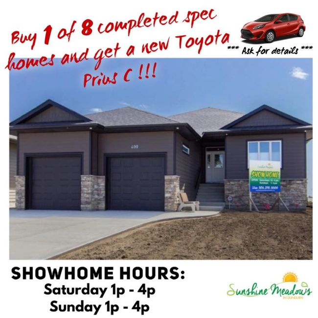 Showhome hours Sunshine Meadows Dundurn - Contact us for details about Toyota Prius C Promotion