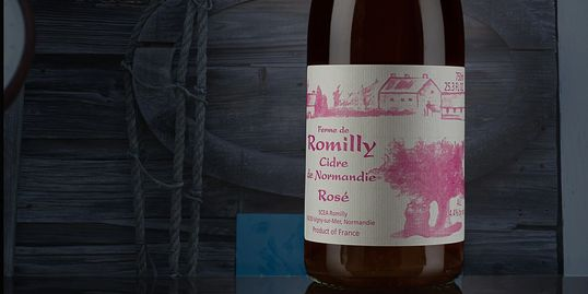 rose apple cider, french cider, normandy cider