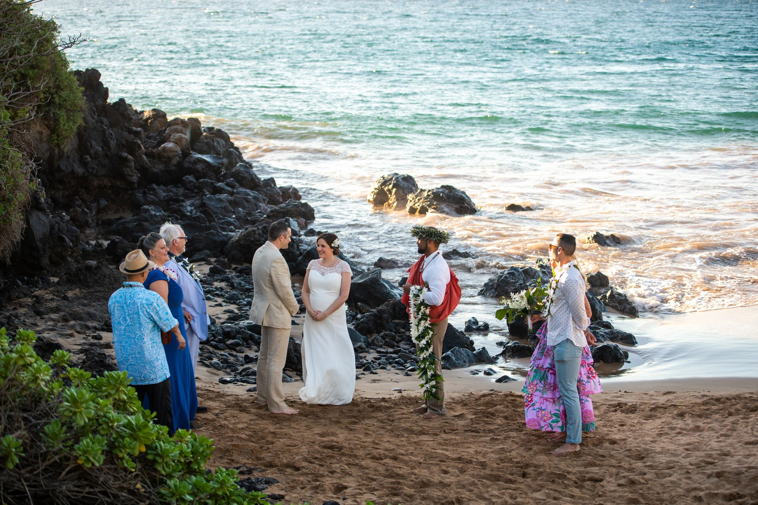 Maui Hawaii Weddings Maui beach wedding Eloped Always and Forever