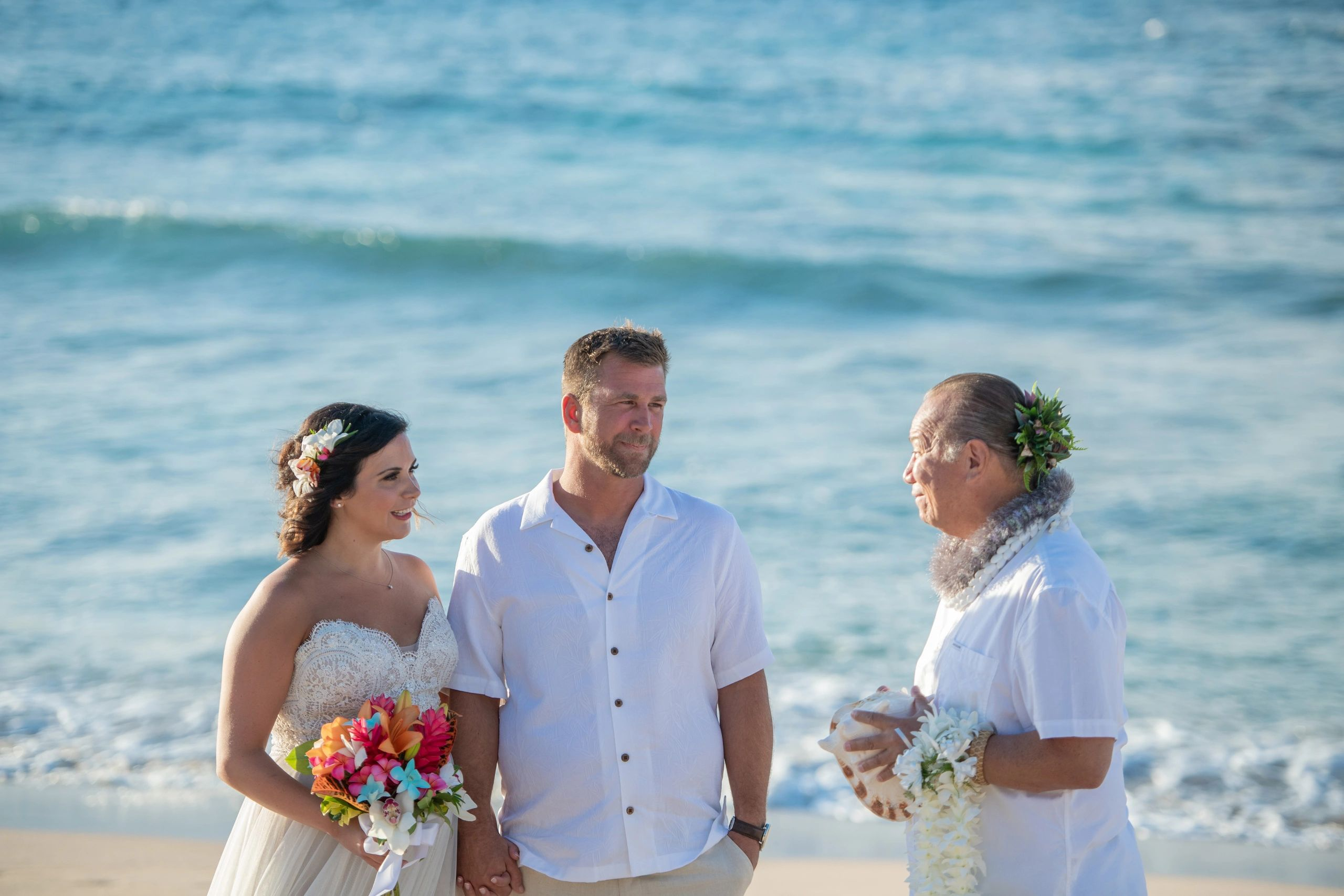 Maui Hawaii Weddings Maui beach wedding Eloped Better together Just Maui'd