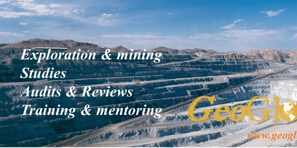 Mineral Resource estimation, geostatistics, Production reconciliation, Corporate Training