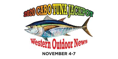 The Los Cabos Tuna Jackpot registration page.