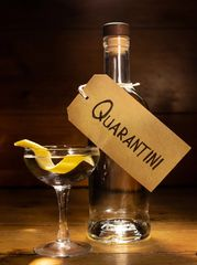 Quarantini £32.50 Our favourite way to sip on crafted Vestal vodka or Whitley Neill gin.