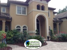Residential Exterior painting in Cape Coral, north Fort Myers, Fort Myers, Lehigh, and Pine Island.