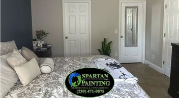 Residential interior painting in Cape Coral, north Fort Myers, Fort Myers, Lehigh, and Pine Island