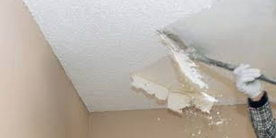Popcorn ceiling removal in Cape Coral, North Fort Myers, Fort Myers, Lehigh, and Pine Island.