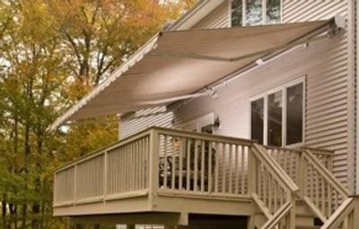 Retractable Awning  by Toff Industries