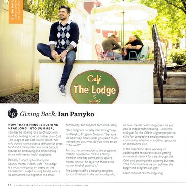 "Check out Fig's Summer issue page 12 ""Giving Back"""