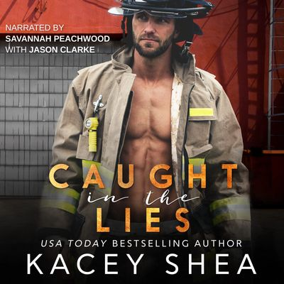 Caught in the Lies narrated by Savannah Peachwood with Jason Clarke releases October 3rd