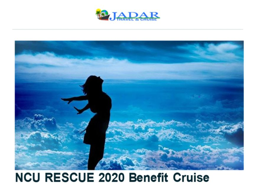 NCU Rescue 2020 Benefit Cruise