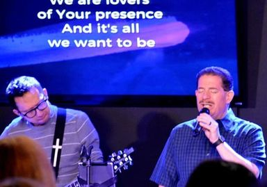 Singing and Leading Worship at The Link Church