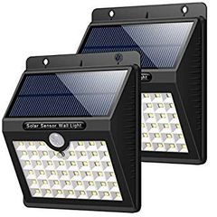 Solar Lights Outdoor, HETP 46 LED Solar Motion Sen