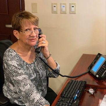 Dolores Alfonso receptionist at The Crexent Business Center DAvie