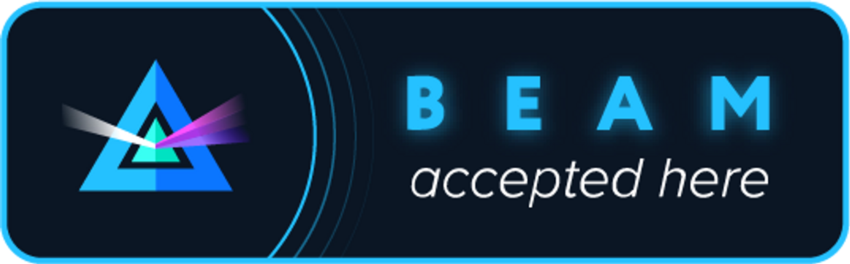 BEAM accepted here Beam cryptocurrancy