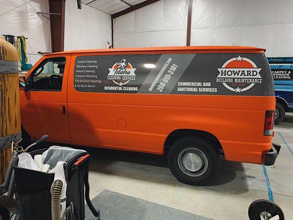 Awesome full vehicle vinyl wrap with logos. Advertising marketing professionals. Wrap shop. Stickers