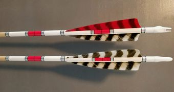 Traditional Wood Archery Arrows