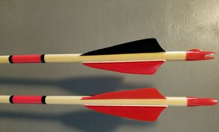 Traditional Wood Youth Arrows