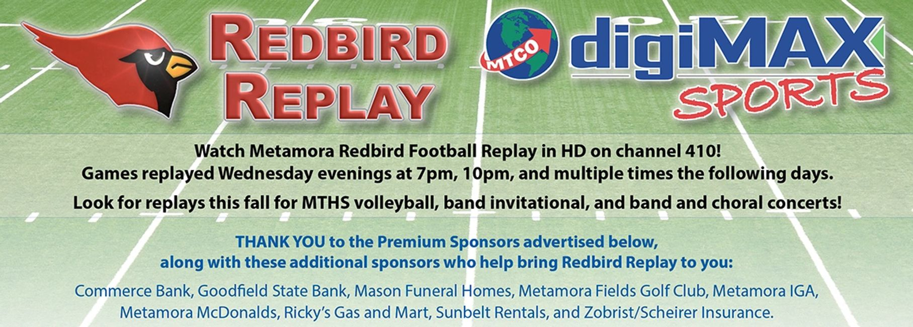 REDBIRD REPLAY
