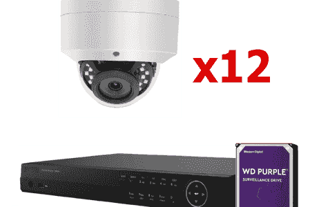 hik vision 16 cha NVR POE security system by Michals  security cameras gates  alarms