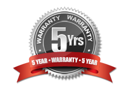 Access Roofing 5 Year Labor Warranty