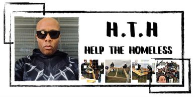 Help the homeless. HTH. Houston community work impacting the community