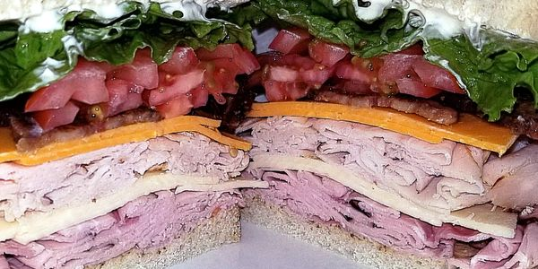 The Trinideli Clubhouse Sandwich