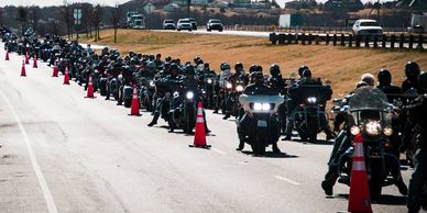 Fort Worth HOG Toy Run, American Valor Toy run
