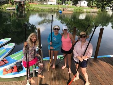 Relationships thrive with SUP with Friends