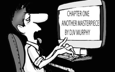 Author Murphy's screenplays begin with a single word!