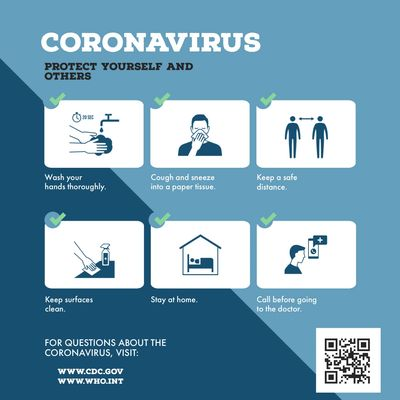 COVID-19, coronavirus, cdc, world health organization, health, social distancing, wash hands, clean