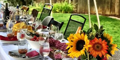 Colorado small events caterer, Denver catering, Picnic Dinner, BBQ Dinner