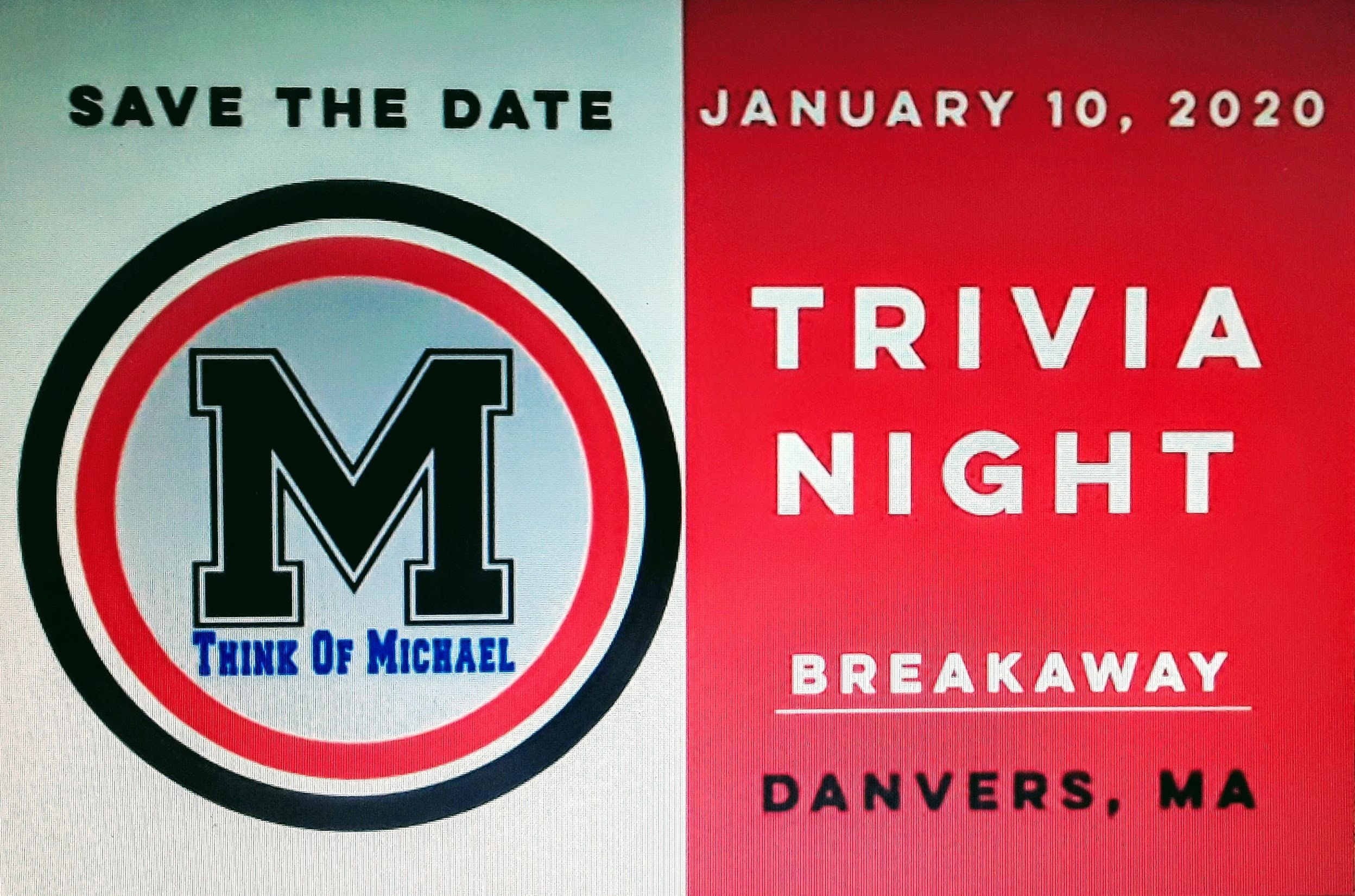 THINK OF MICHAEL TRIVIA NIGHT