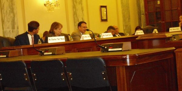 Testimony at U.S. Senate Committee on Small Business.