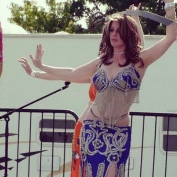 Shaula the Belly Dancer performing at Relay For Life
