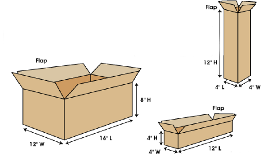 Box Measurements and shipping guidelines