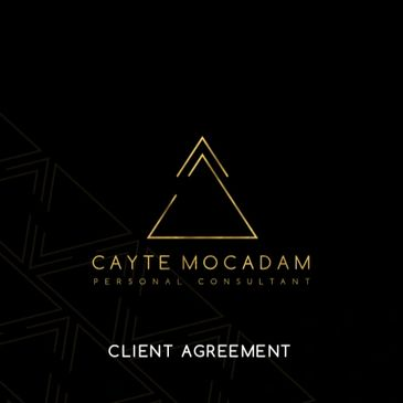 Client Agreement - Cayte Mocadam