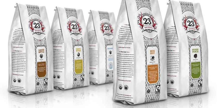 23 degrees roastery best canadian coffee