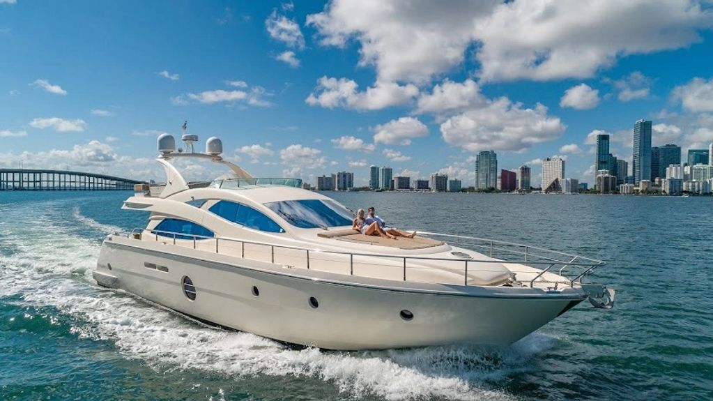 Aicon 69' Yacht day charter