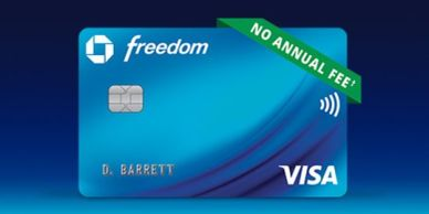 credit card 0% financing Chase credit card Chase Freedom credit card bonus